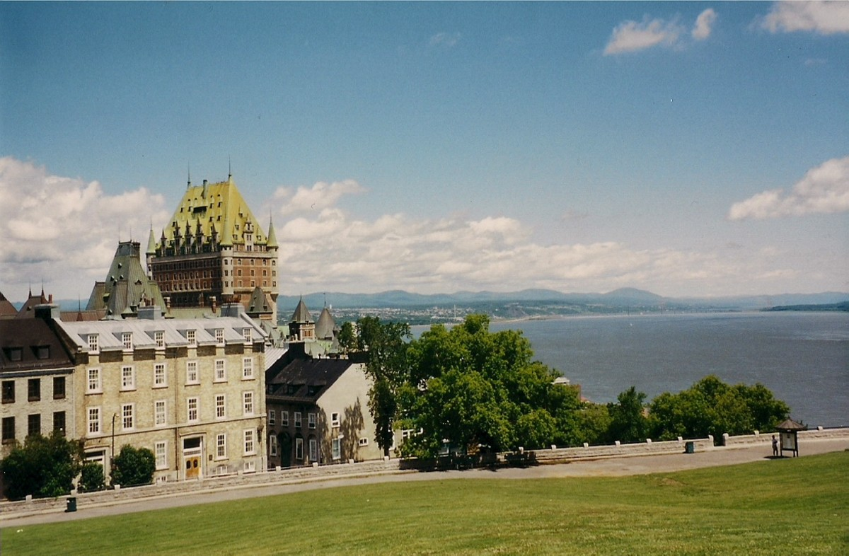 Quebec City Offers Beautiful Architecture and Scenery