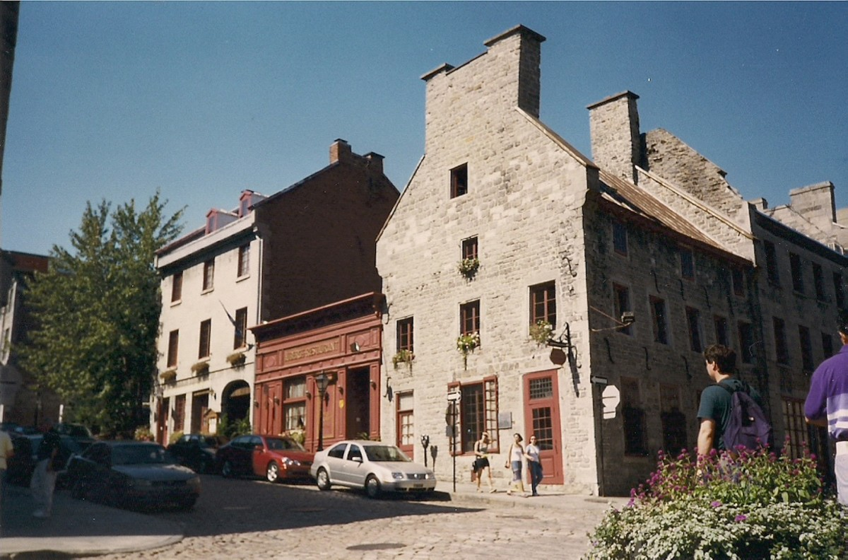 Montreal's Old City Offers A Look Into Montreal's Past