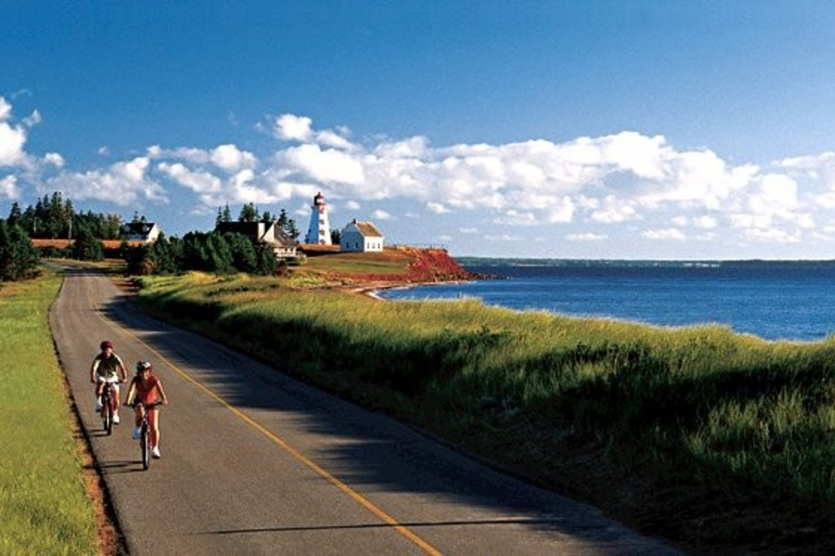 The Coastline of Prince Edward Island In Atlantic Canada