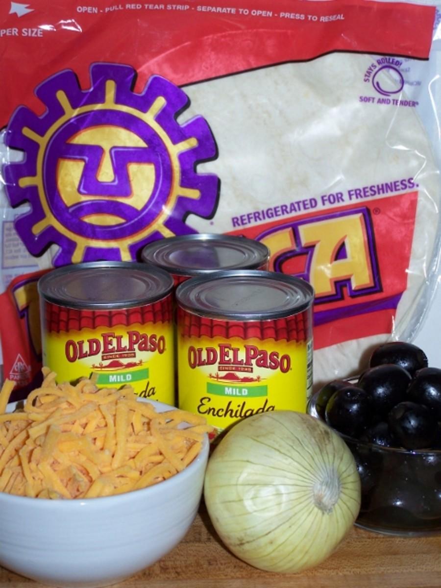 Enchiladas items