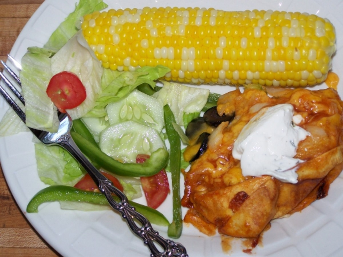 Five Cheap and Easy Dinners. Main Dish Family Recipes.