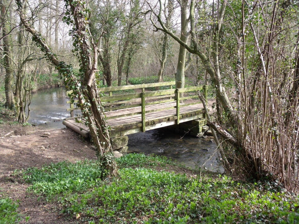 The London road bridge over Cock Beck would have been crowded with the fleeing Lancastrian men-at-arms, enough to slow them down for further 'treatment'