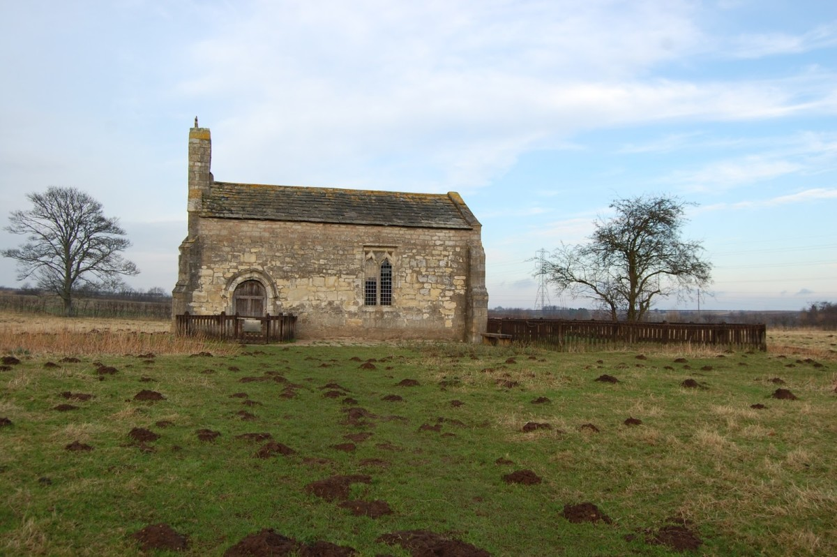 Before the fighting Lancastrian nobles and men-at-arms would have come to pray for victory at the Chapel of St Mary Lead