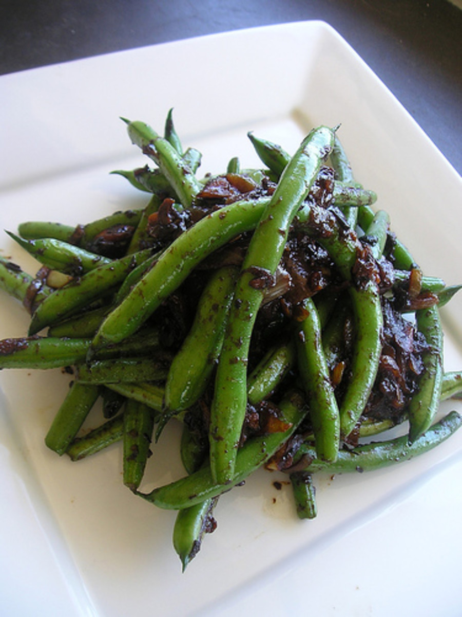 Mix with a few teaspoons of olive oil to make a black bean sauce for other veggies.