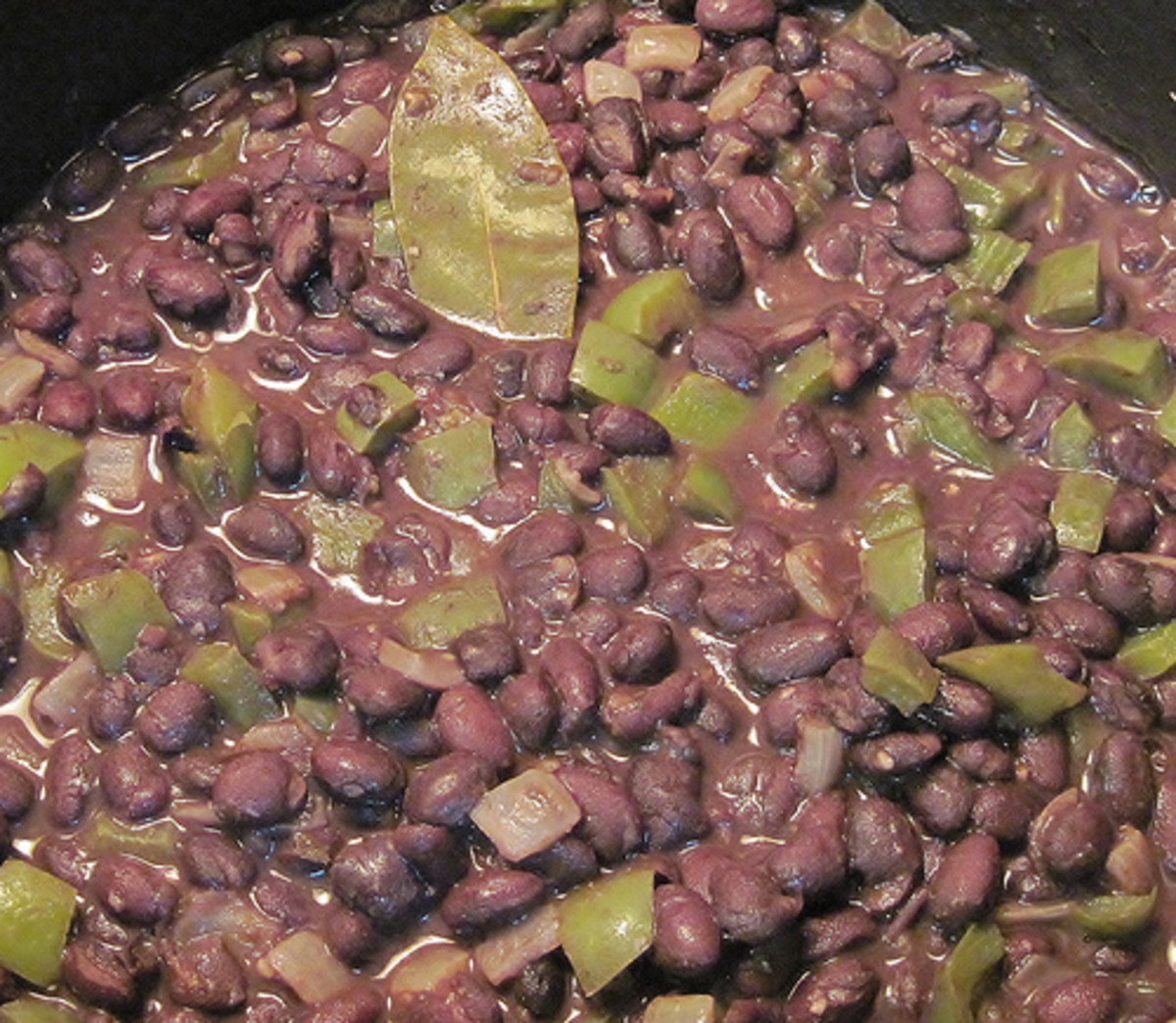 Mix with green peppers and more onions for Cuban Black Beans