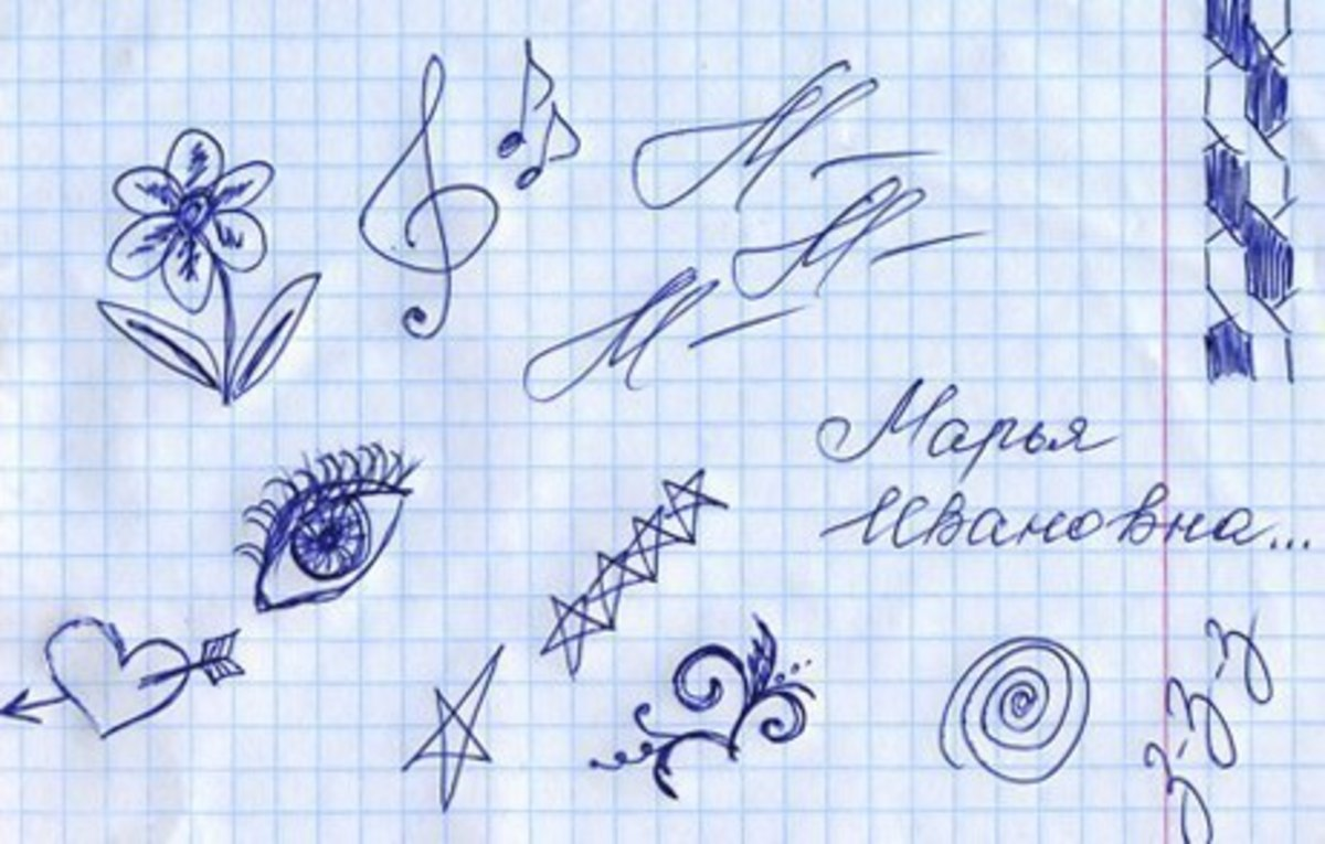 Scribble Drawing Meaning : Doodle meaning what different doodles mean
