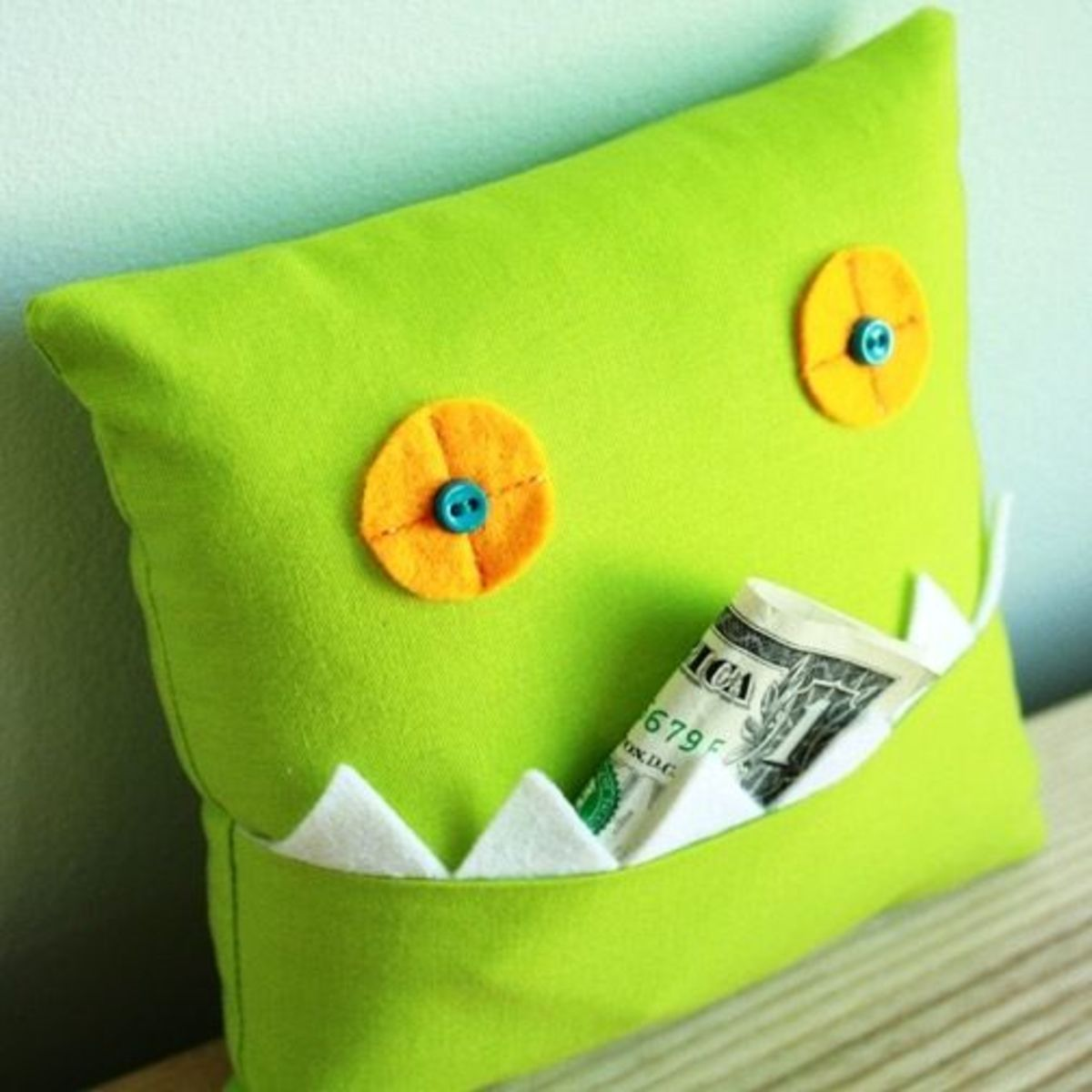 Monster Sewing Pattern Tooth Pillow