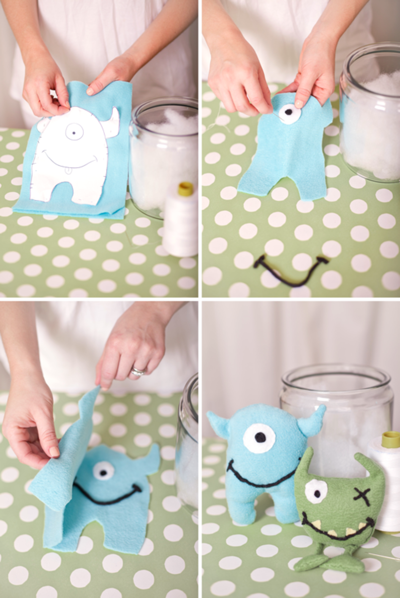 Monster Party Take Home Favors