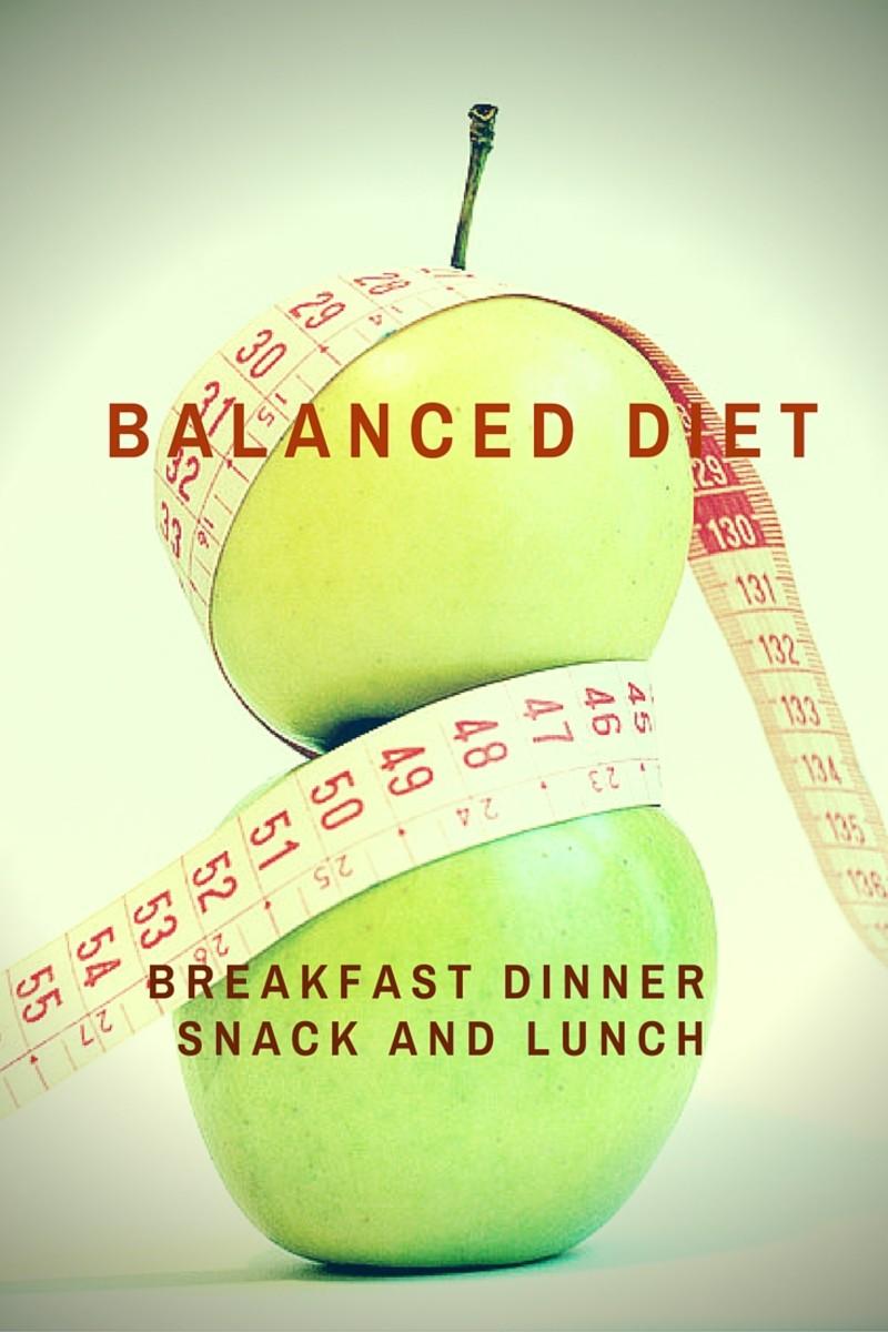 Low calorie balanced meal