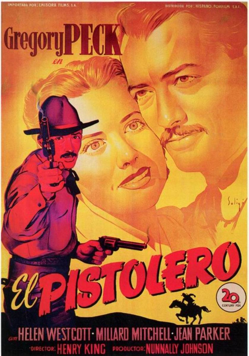 The Gunfighter (1950) Spanish poster