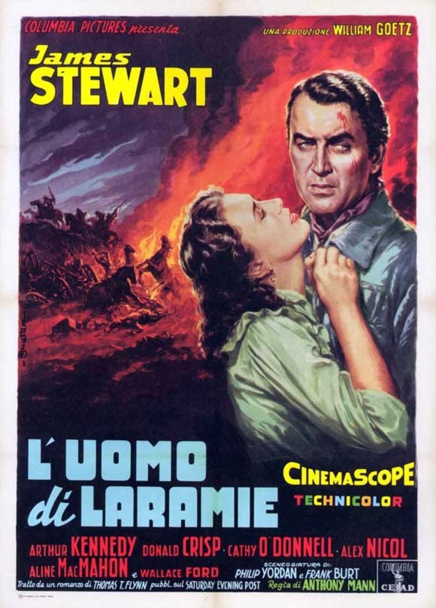 The Man from Laramie (1956) Italian poster
