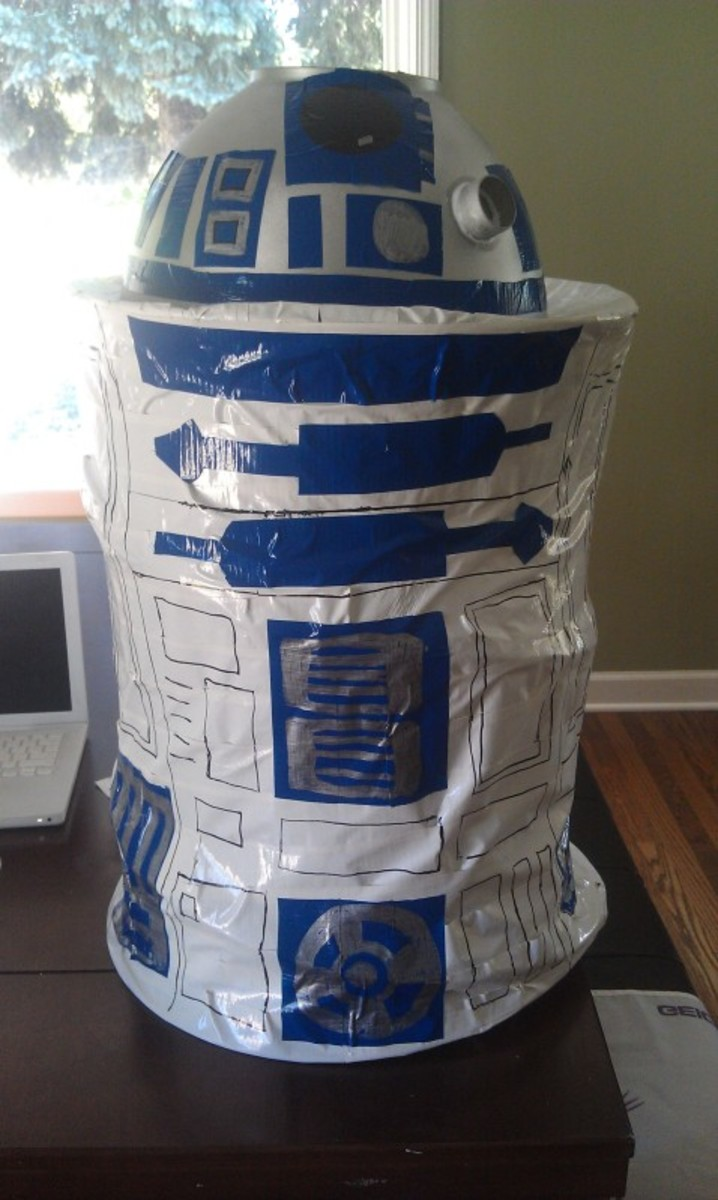 How To Make An R2d2 Costume Hubpages