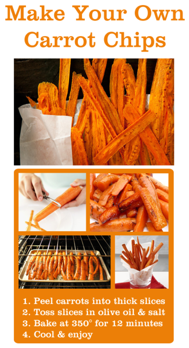 How to Make Carrot Chips