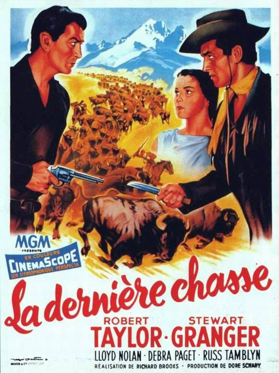 The Last Hunt (1956) French poster