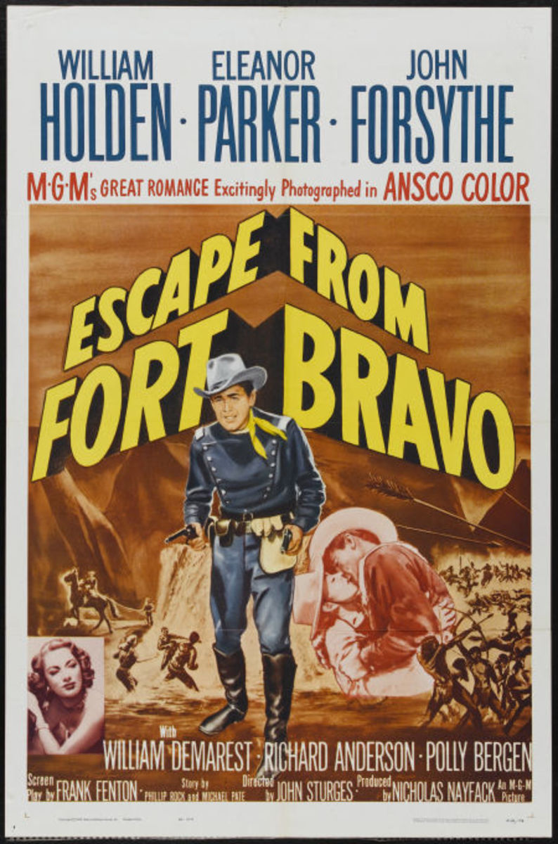 Escape from Fort Bravo (1954)