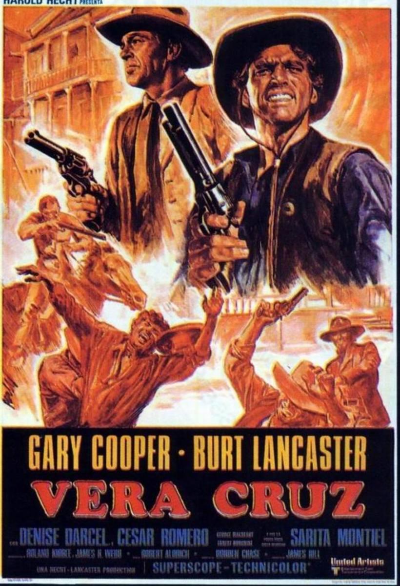 Vera Cruz (1954) Spanish poster