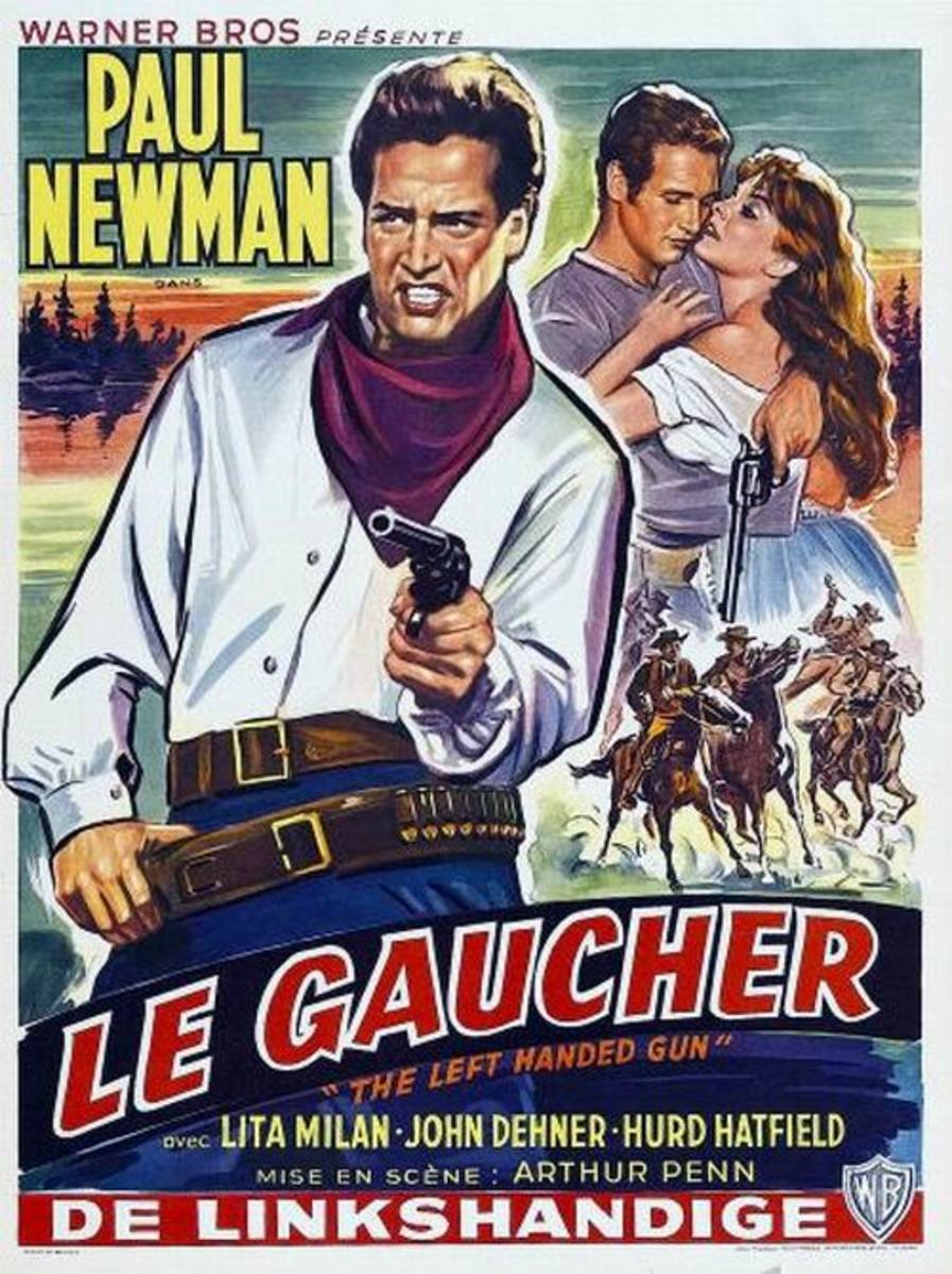 The Left Handed Gun (1958) Belgian poster