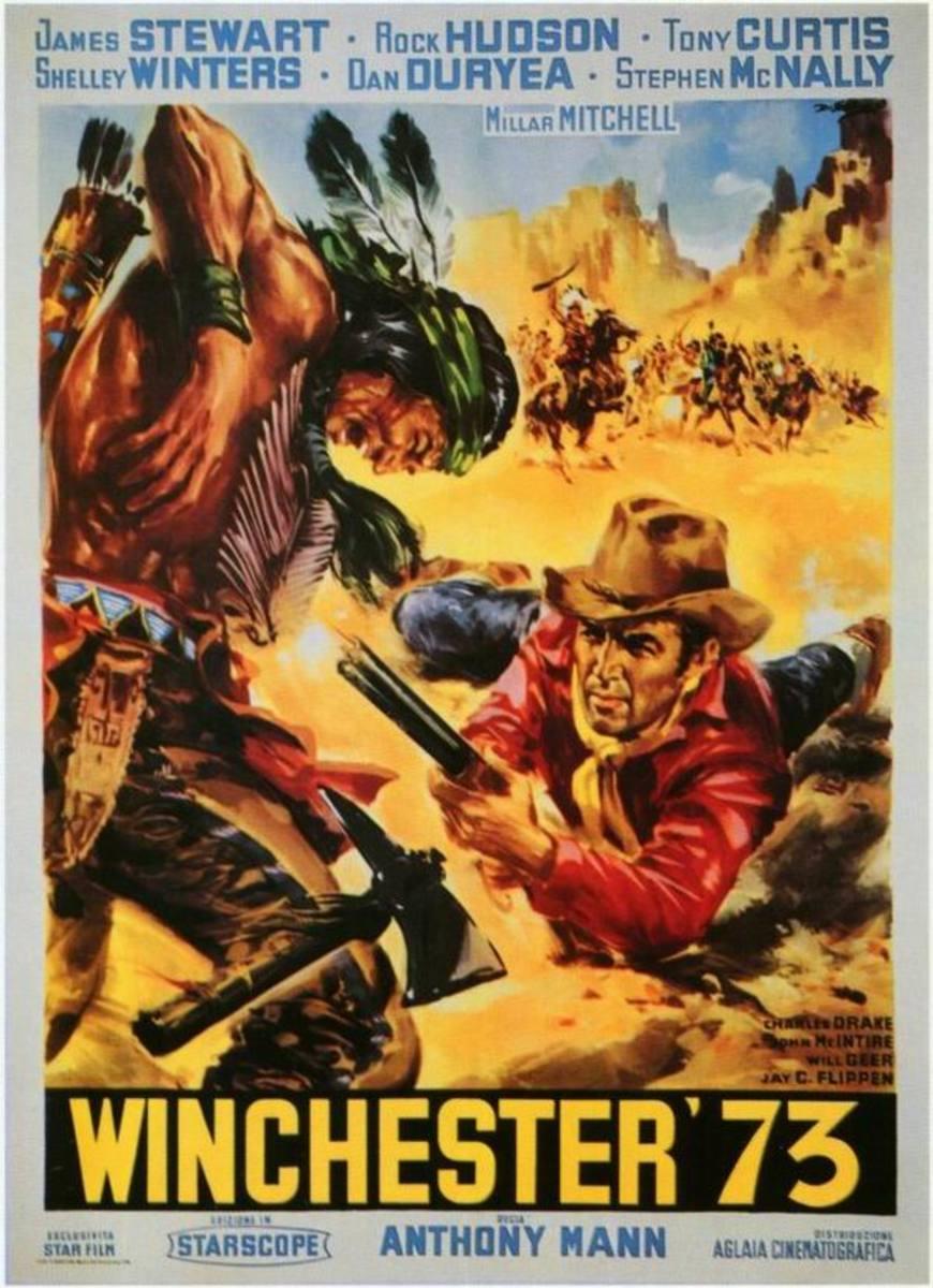 Winchester 73 (1950) Italian poster