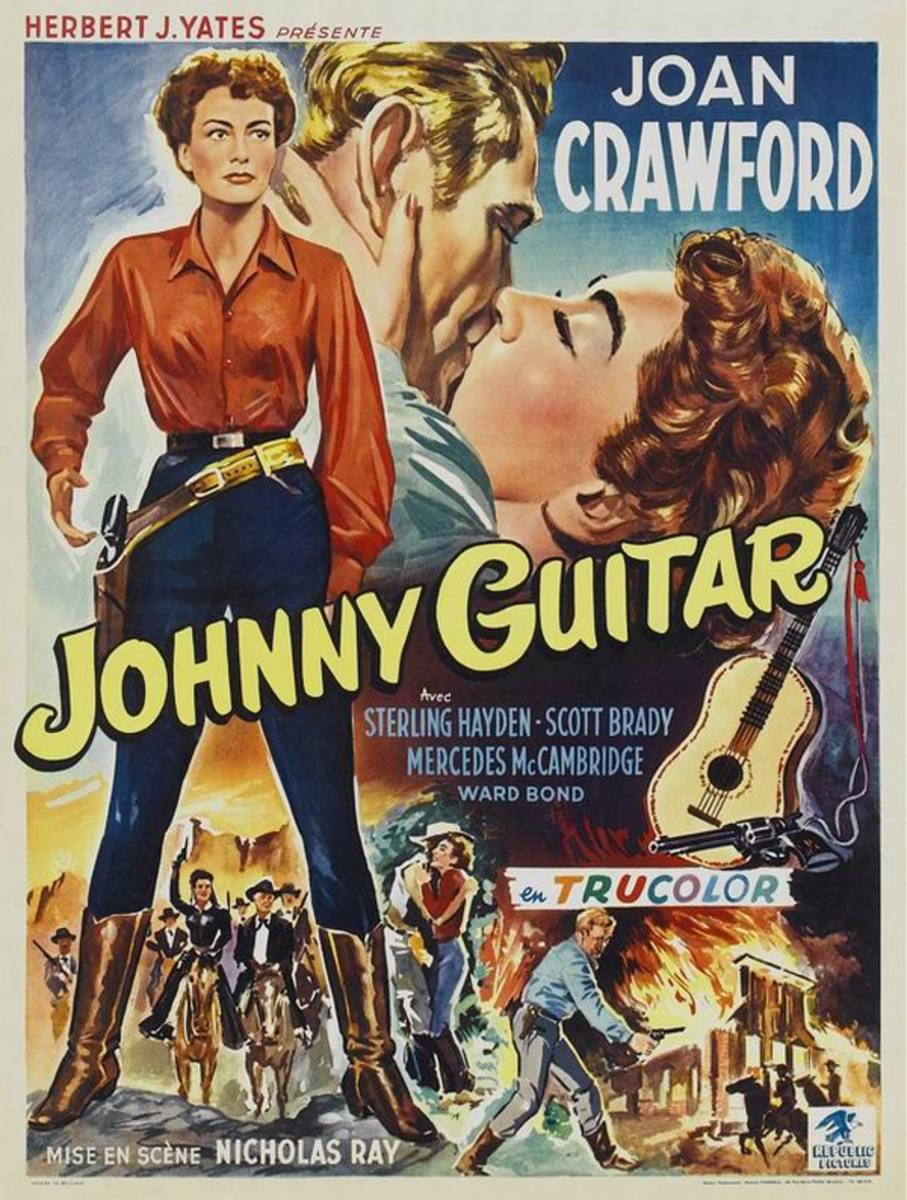 Johnny Guitar (1954) Belgian poster