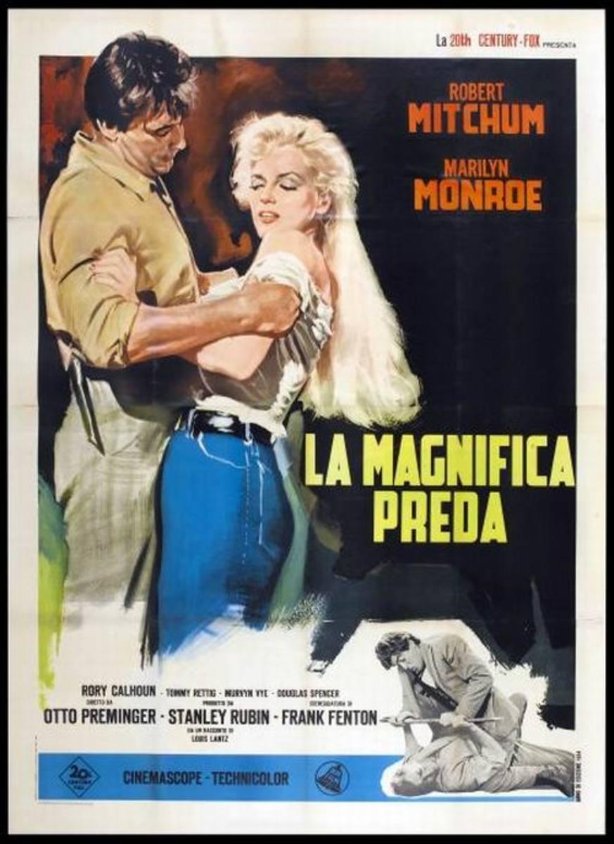 River of No Return (1954) Italian poster