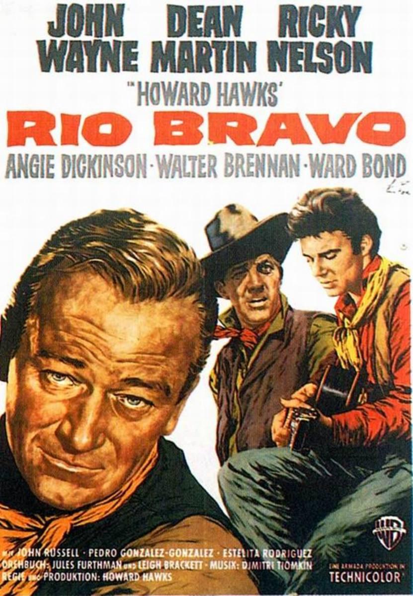 Rio Bravo (1959) German poster