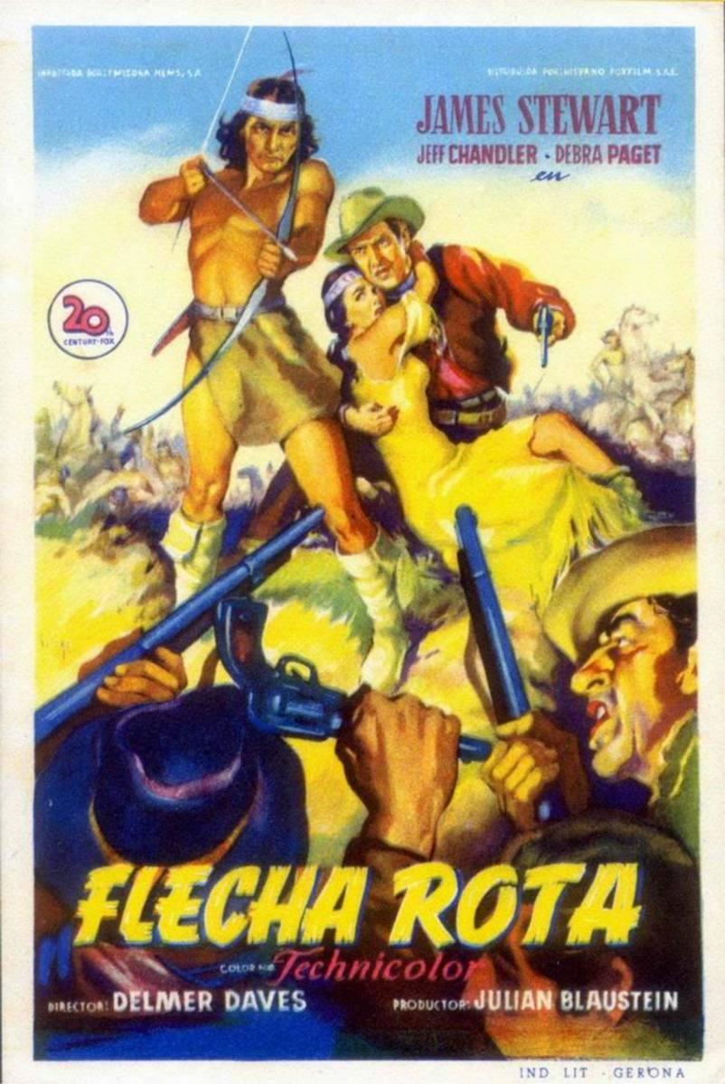 Broken Arrow (1950) Spanish poster