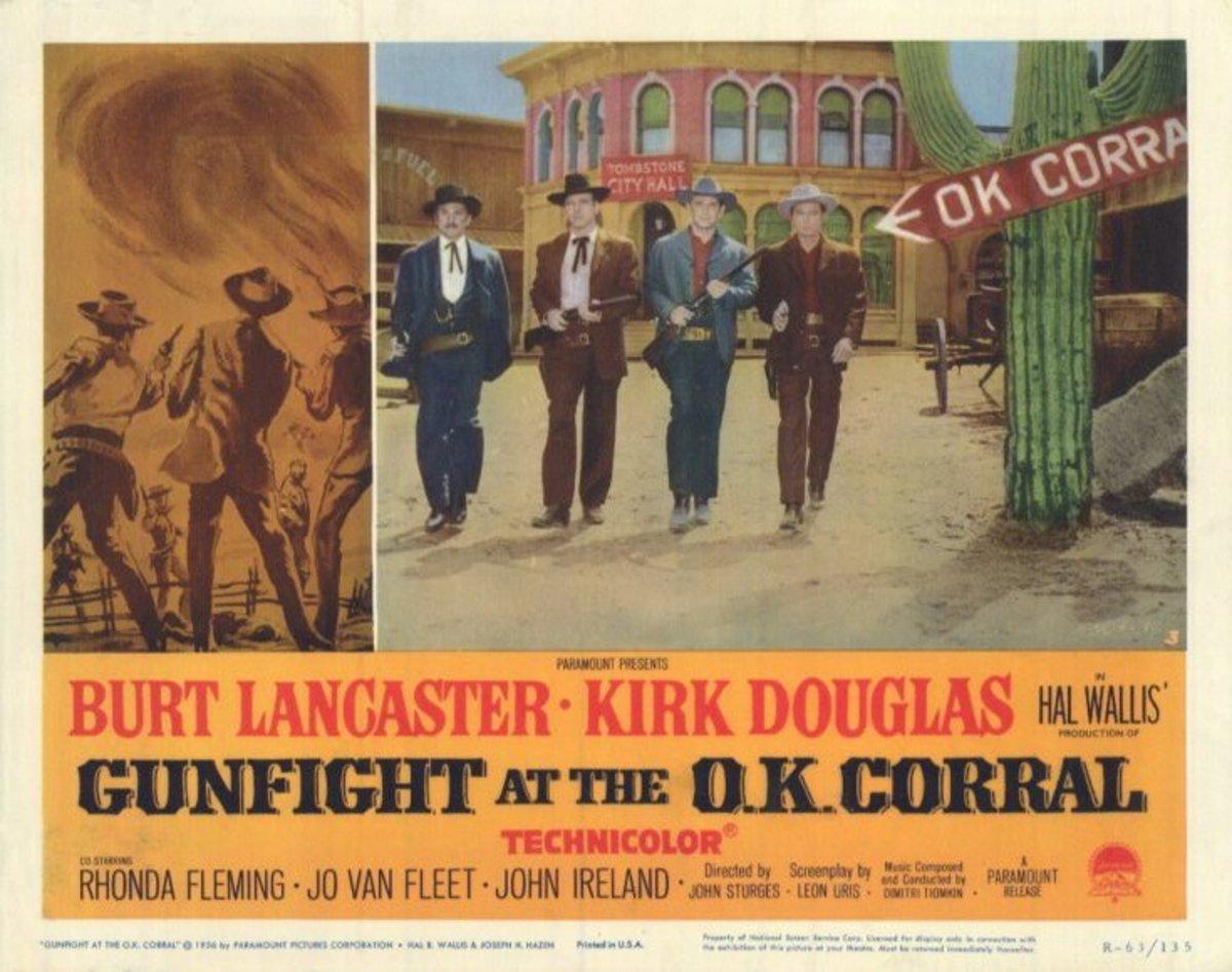 Gunfight at the OK Corral (1957) lobby card