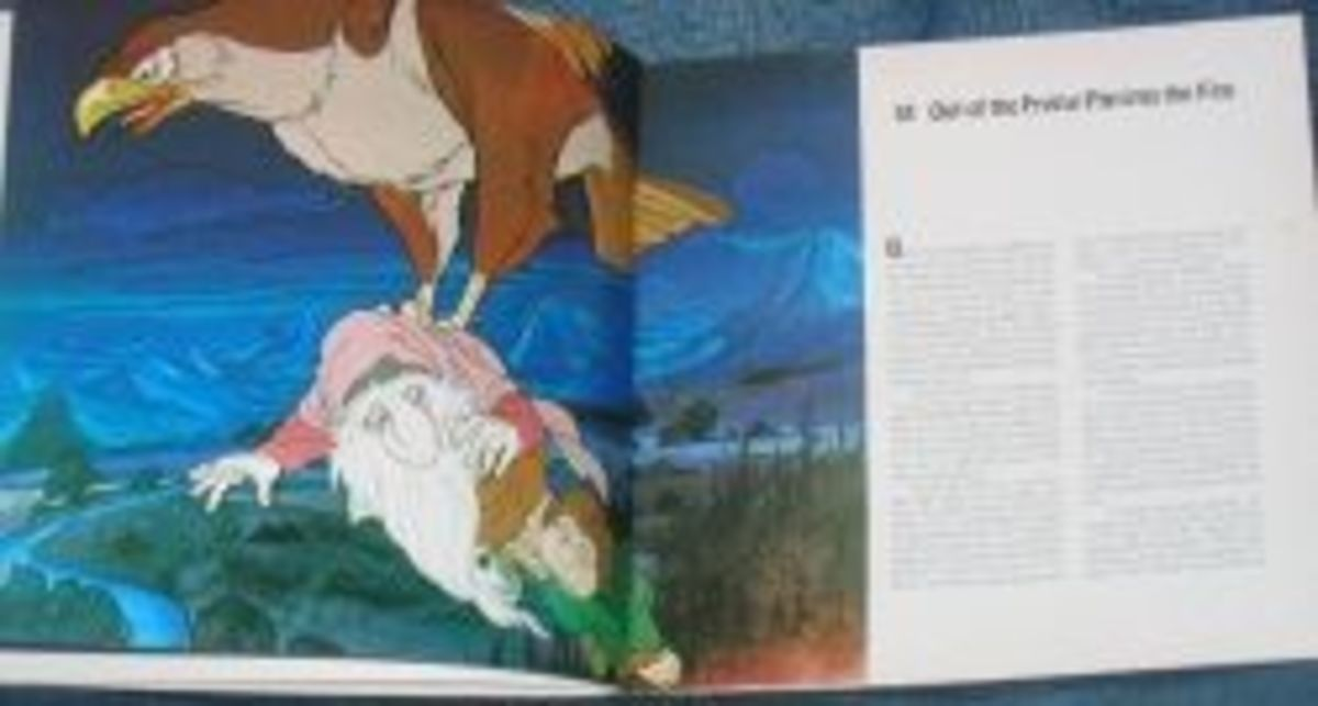 Picture from The Hobbit book, illustrated by Arthur Rankin, Jr. and Jules Bass.