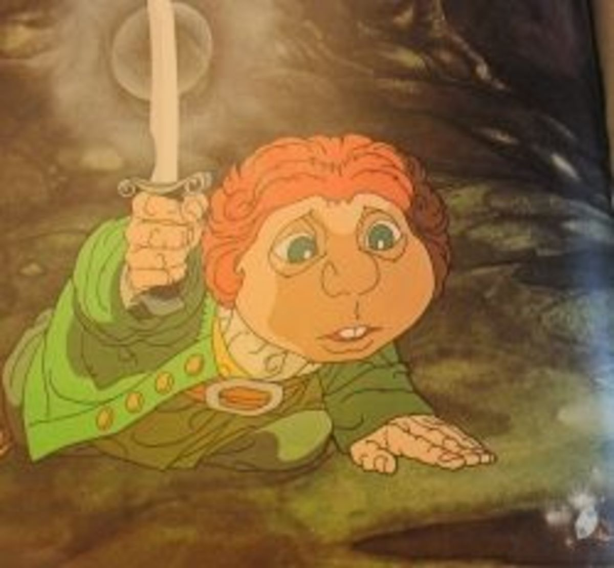 """The Hobbit"" Book and Animated Movie for Children"