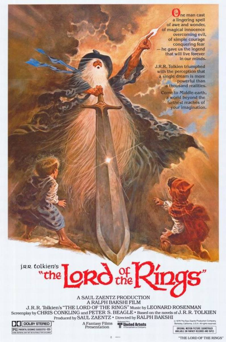 The Lord of the Rings (1978) art by Tom Jung
