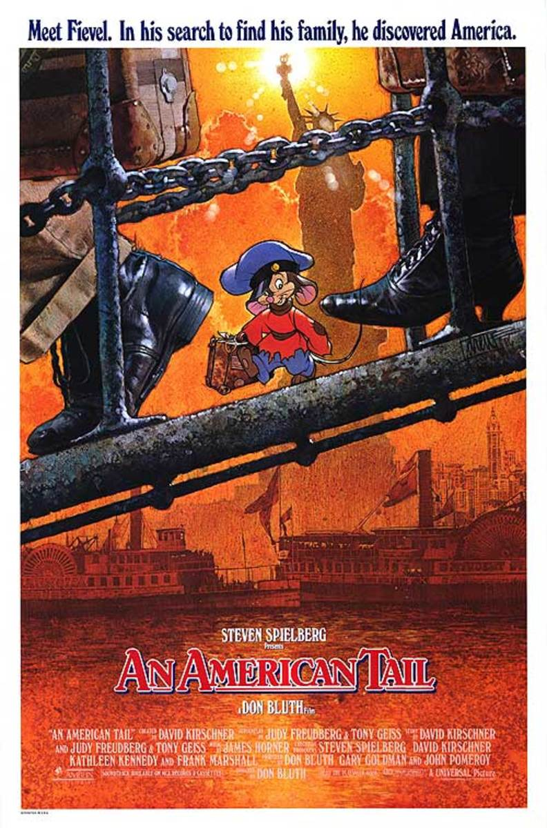 An American Tail (1986) art by Drew Struzan