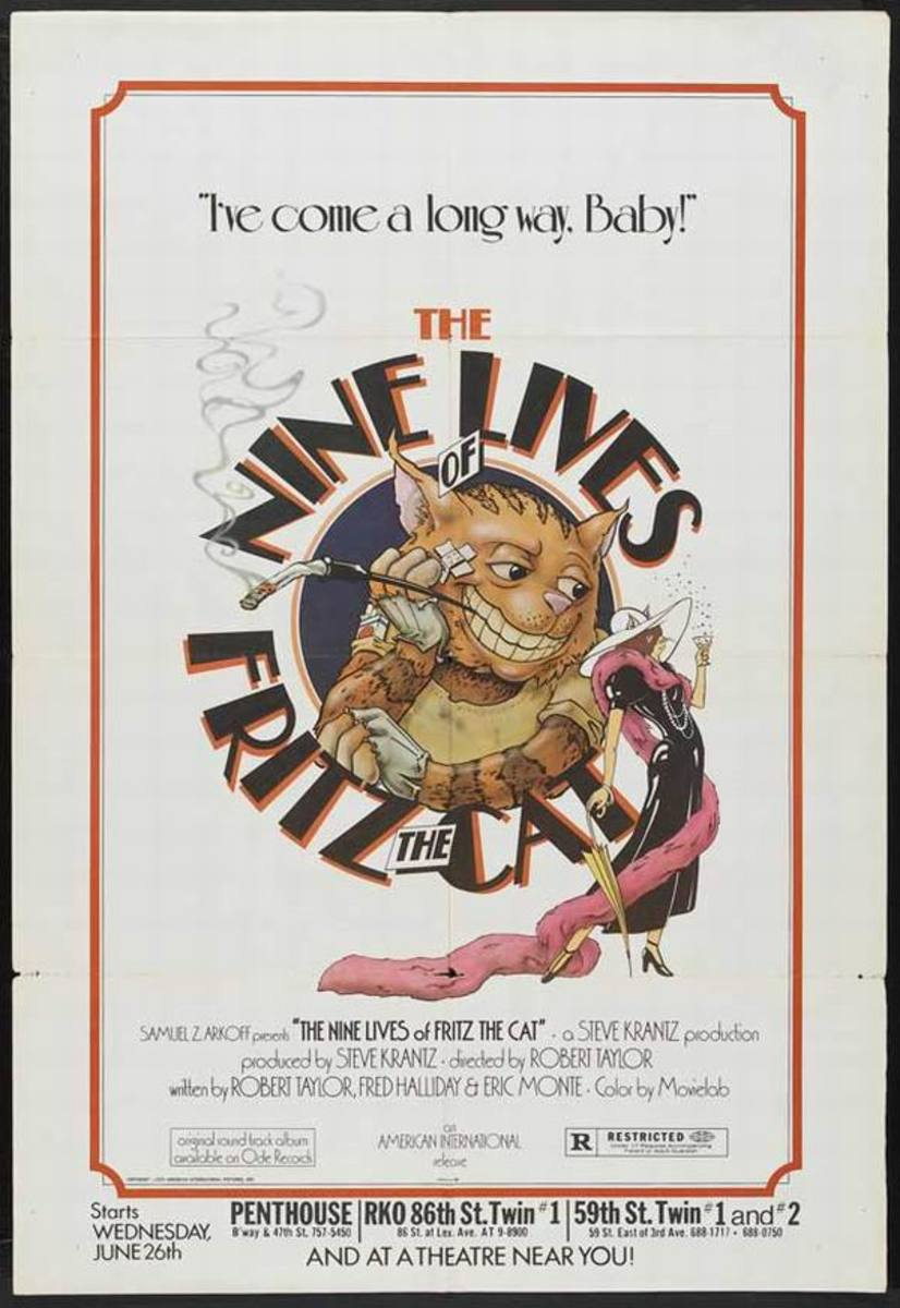 The Nine Lives of Fritz the Cat (1974)