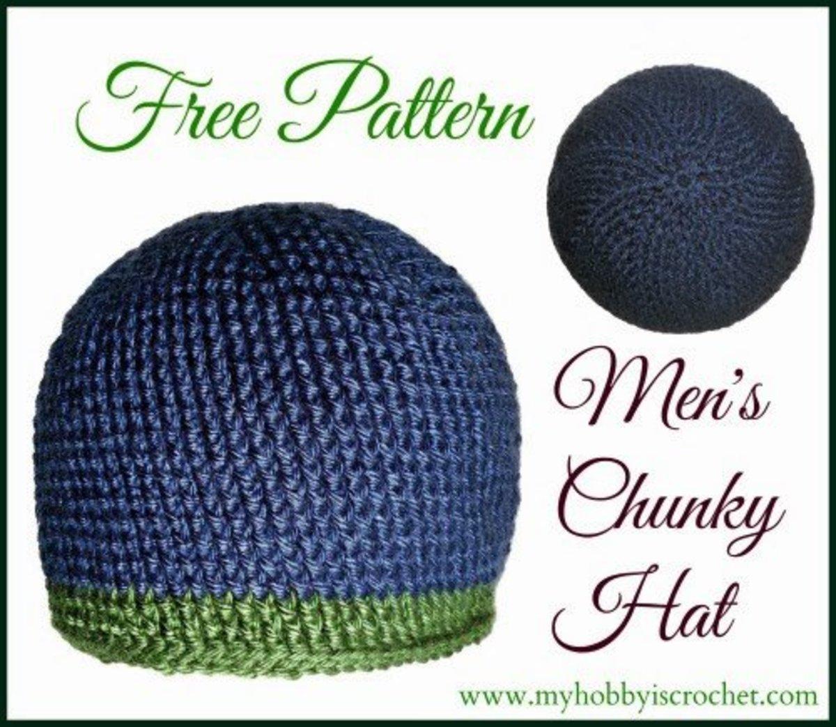 Free Crochet Hat Patterns For Men Hubpages