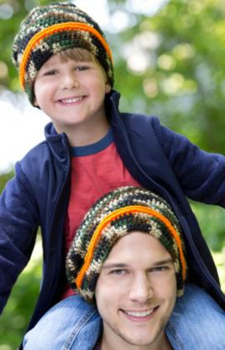 Boys and mens croochet hat patterns {FREE}