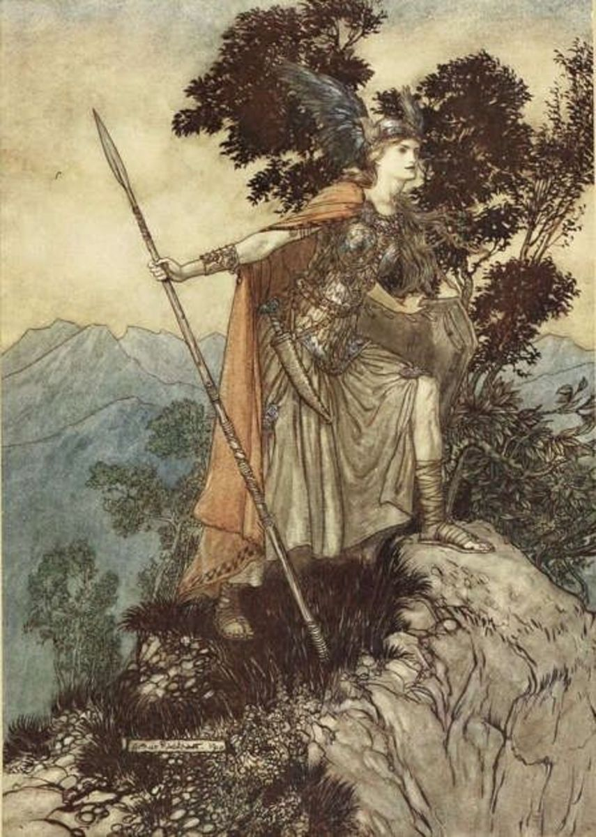 For more about Arthur Rackham just press the image!