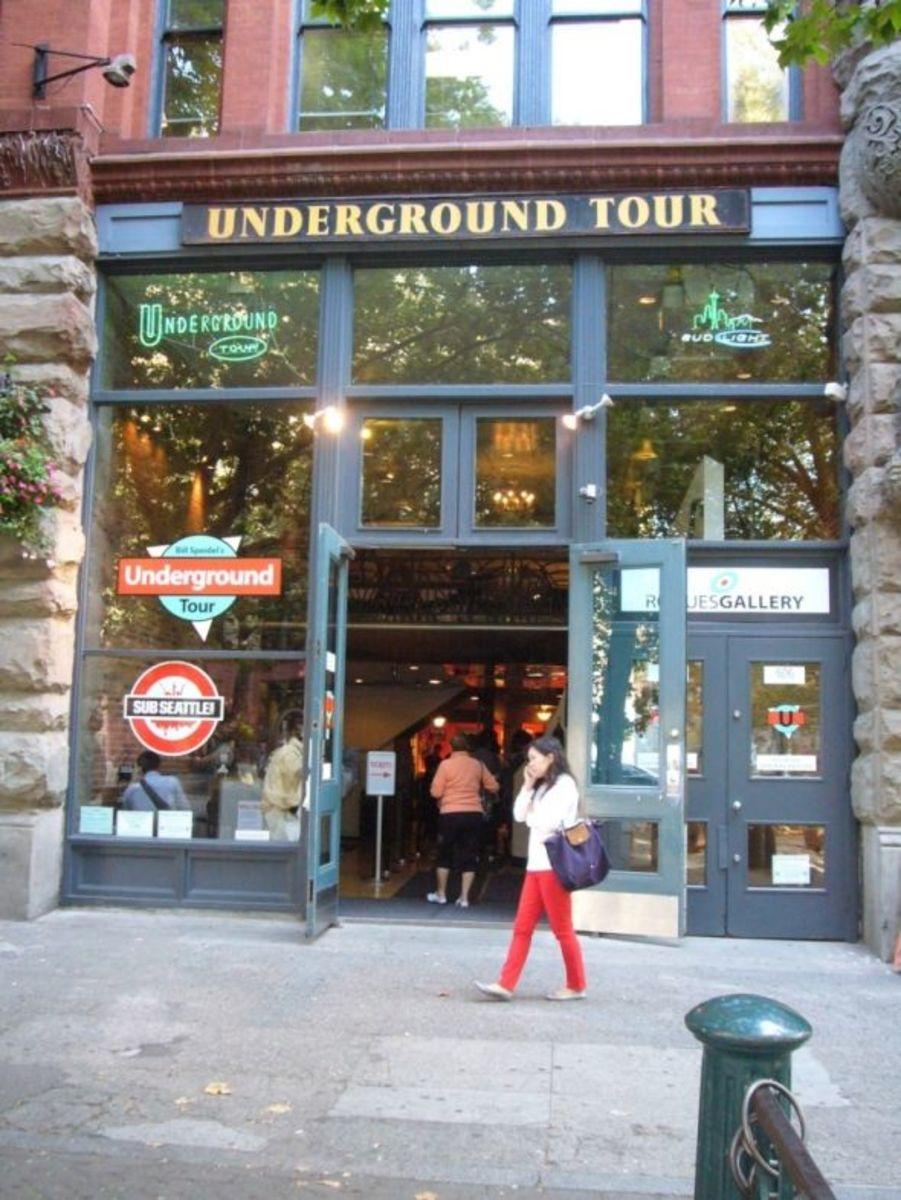 Seattle Pioneer Square Underground Tour