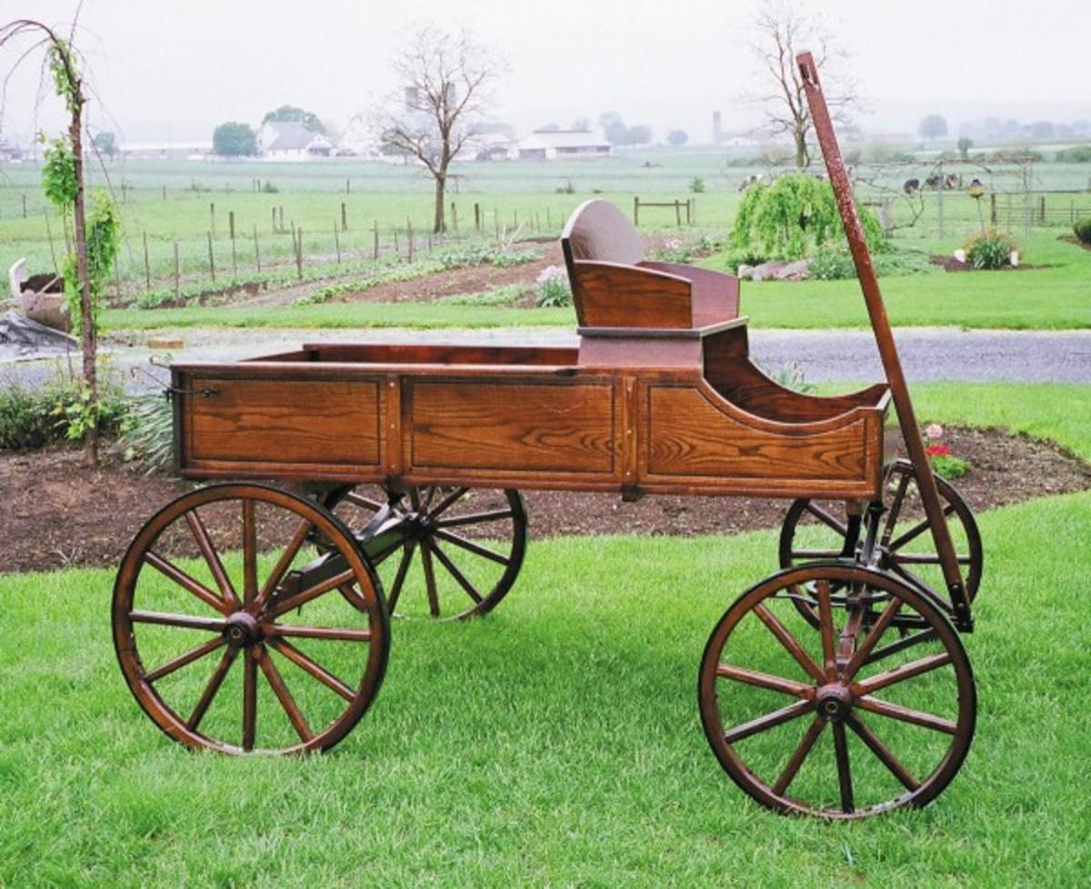 Large Buckboard Wagon