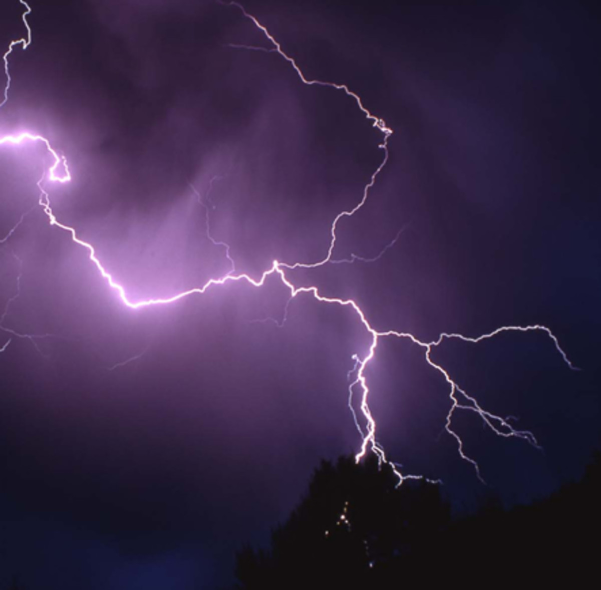 Multiple echoes produce thundering sounds as produced by the clouds
