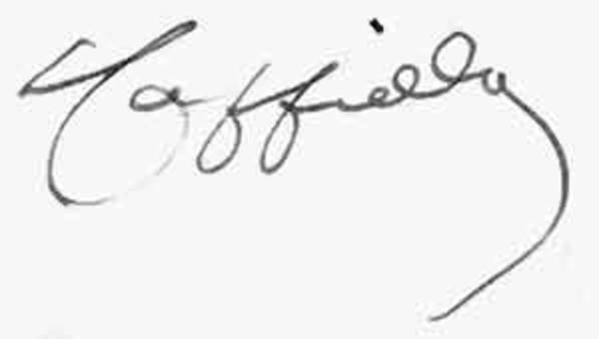 A Cappiello Signature for collectors to identify