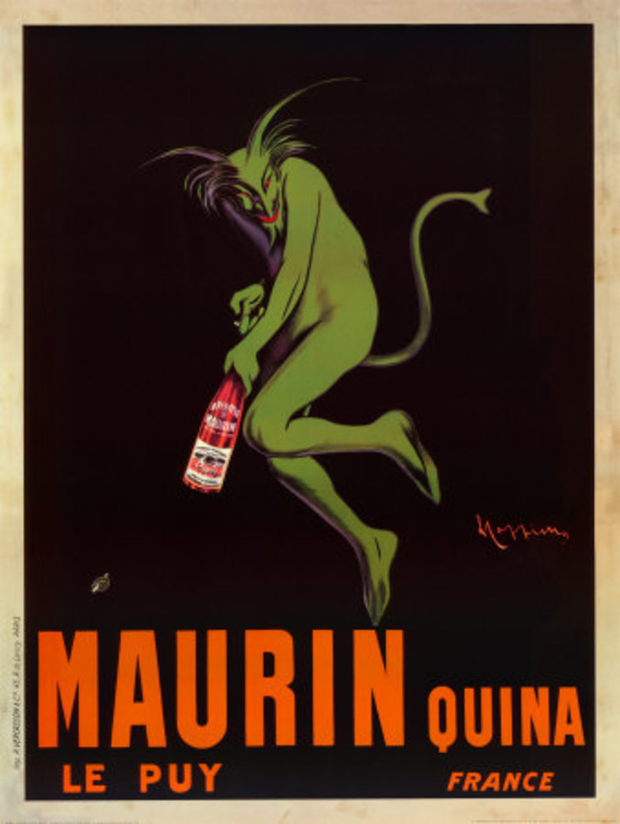 Brand Identity: Green Devil for Maurin Quina