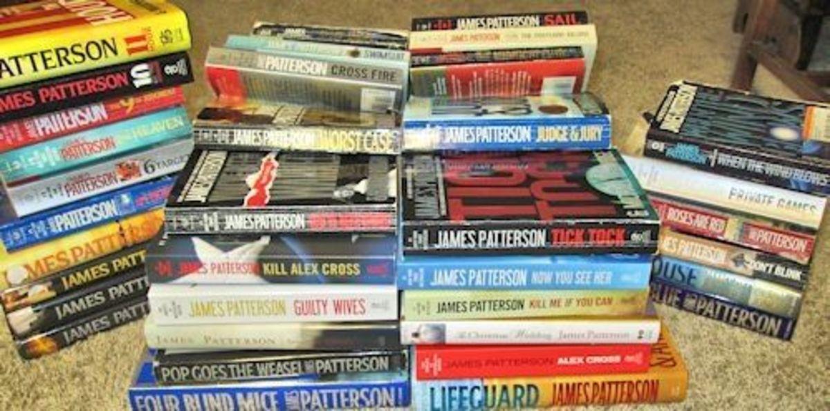 James Patterson Book List - Collection