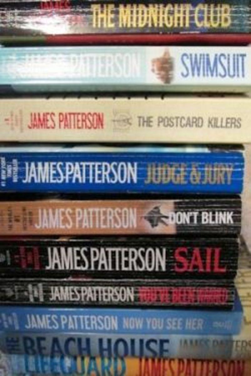 James Patterson Book List - Collection 2