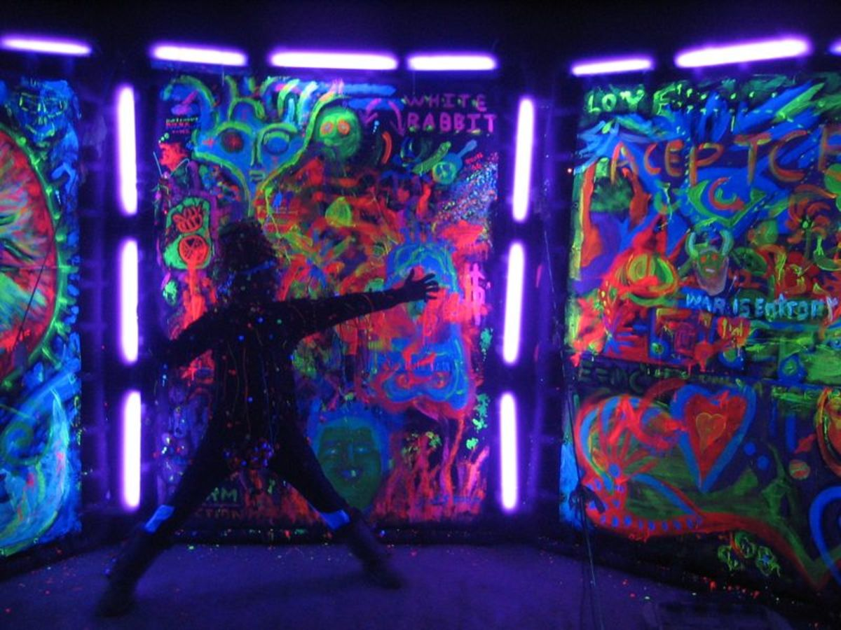 Glow in the Dark and Black Light Party Ideas | hubpages