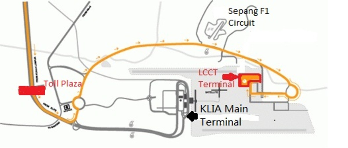 LCCT Map and Location