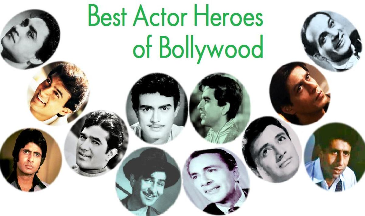 Greatest Acting Heroes of Bollywood