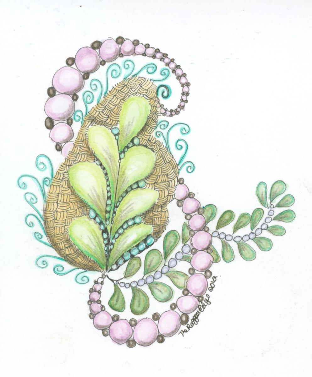 Zentangle-Inspired Art (ZIA).