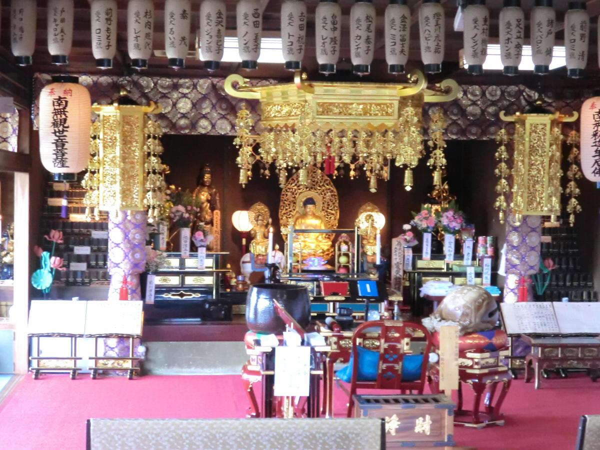 Inside the temple of the pet funerals