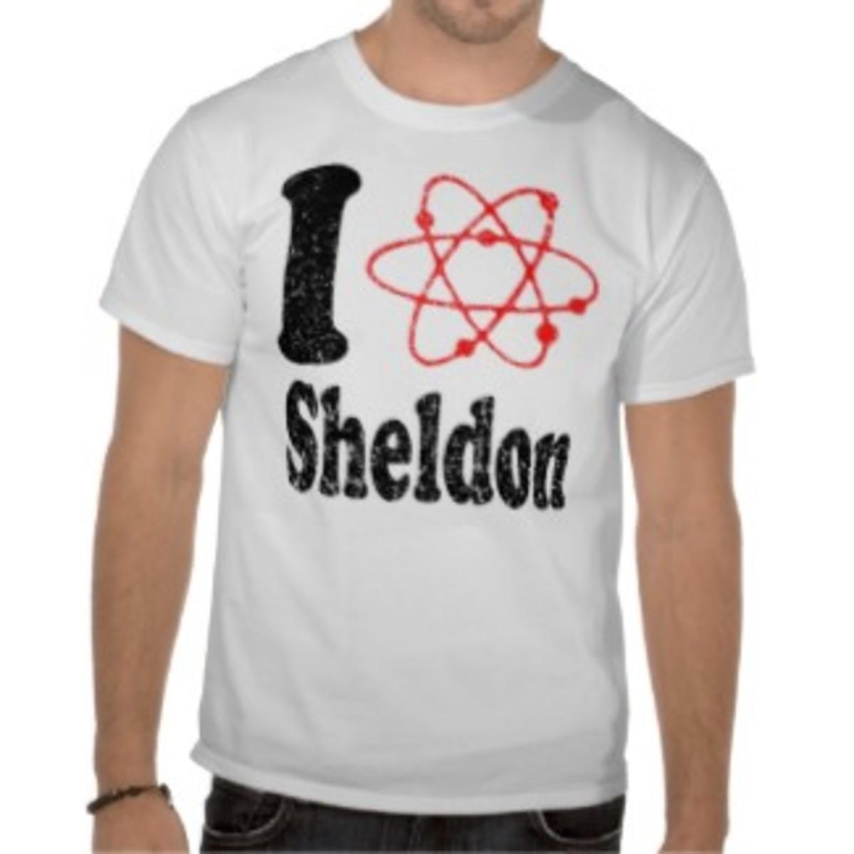 I love Sheldon Cooper - Geek Style