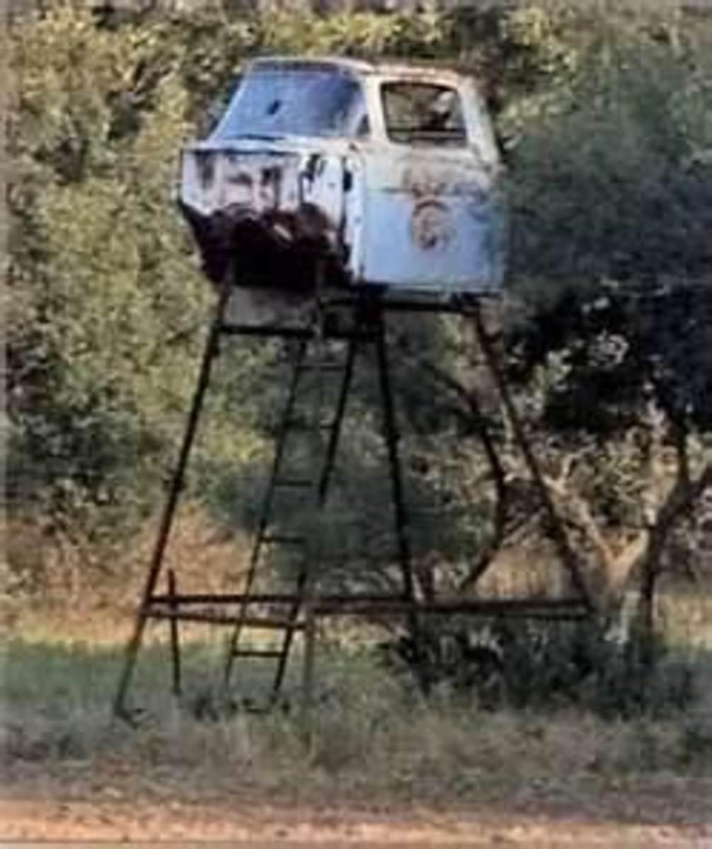 Redneck Deer Stand