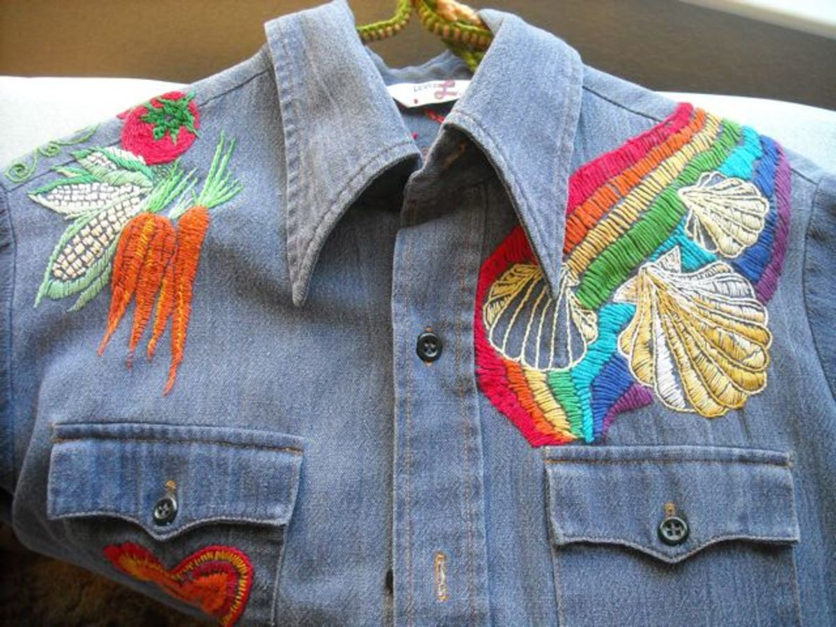 Freestyle Embroidery | Doodling With Thread